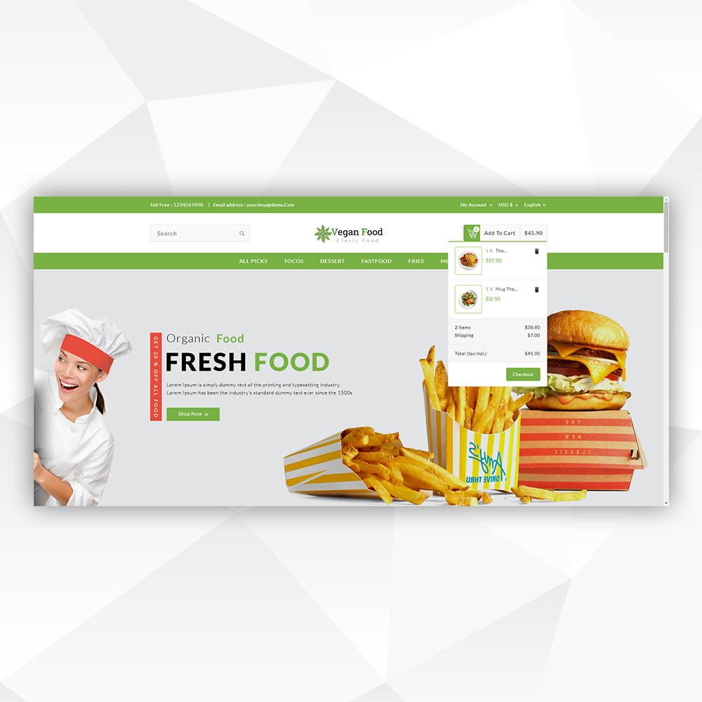 theme - Food & Restaurant - Vegan Food - 9