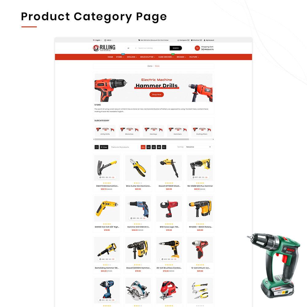 theme - Automotive & Cars - Drilling Mega SparePart–Car and Machine–Tools Store - 3