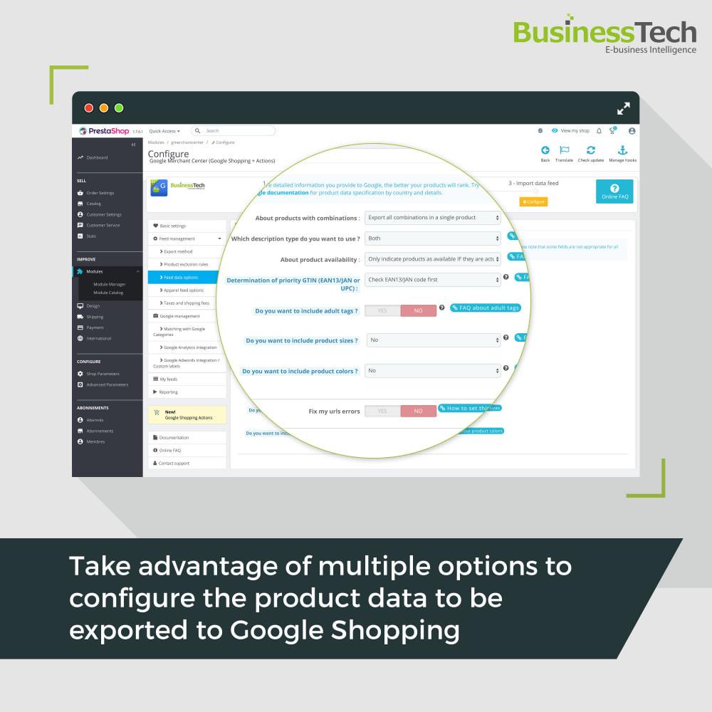 module - Comparadores de Precios - Google Merchant Center (Google-Shopping) - 6