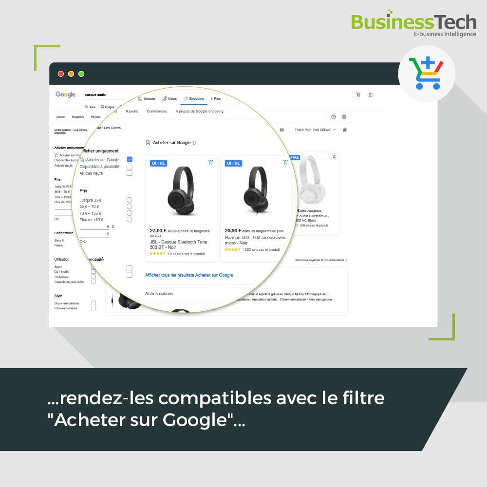 module - Comparateurs de prix - Google Merchant Center (Google-Shopping) - 2