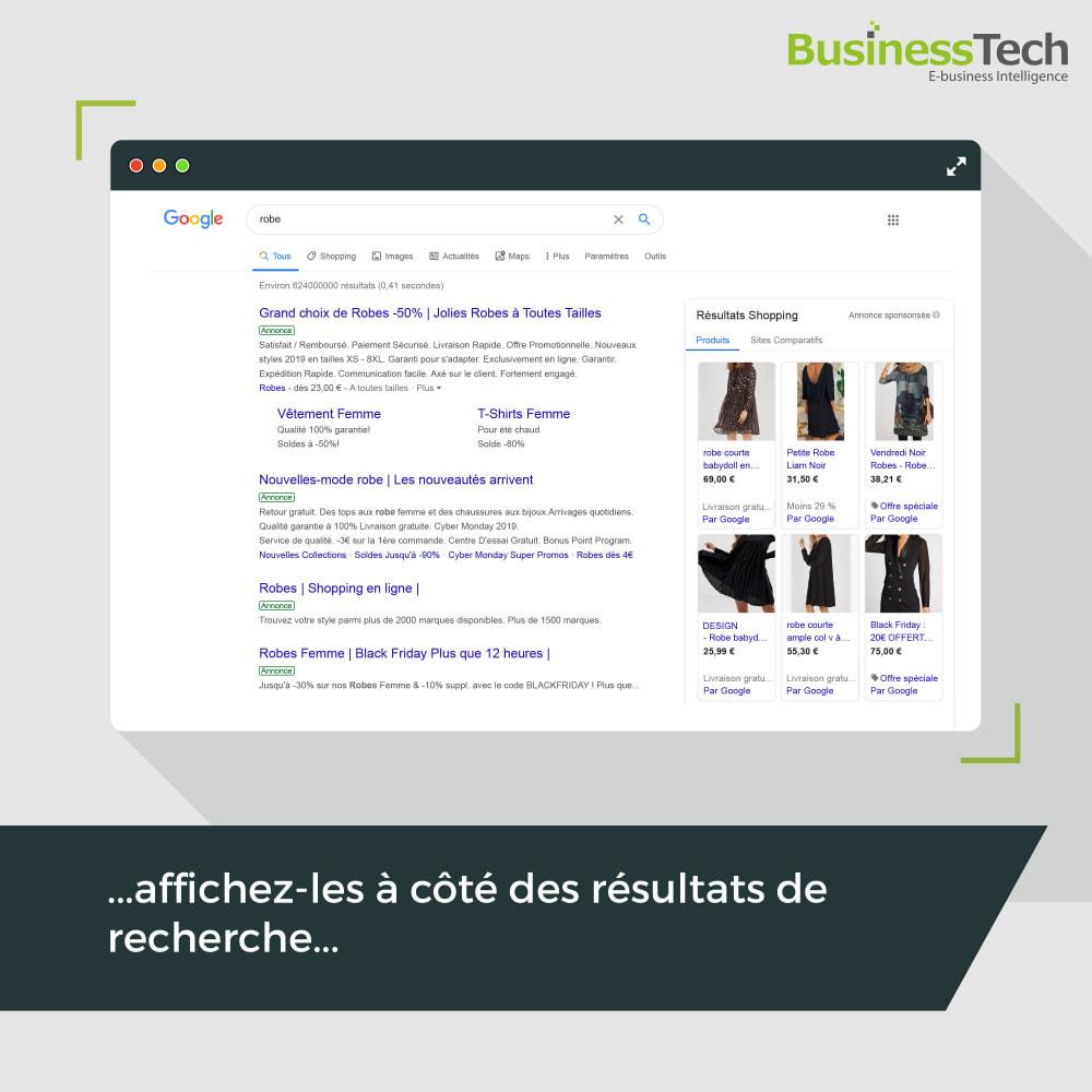 module - Comparateurs de prix - Google Merchant Center (Google-Shopping) - 4