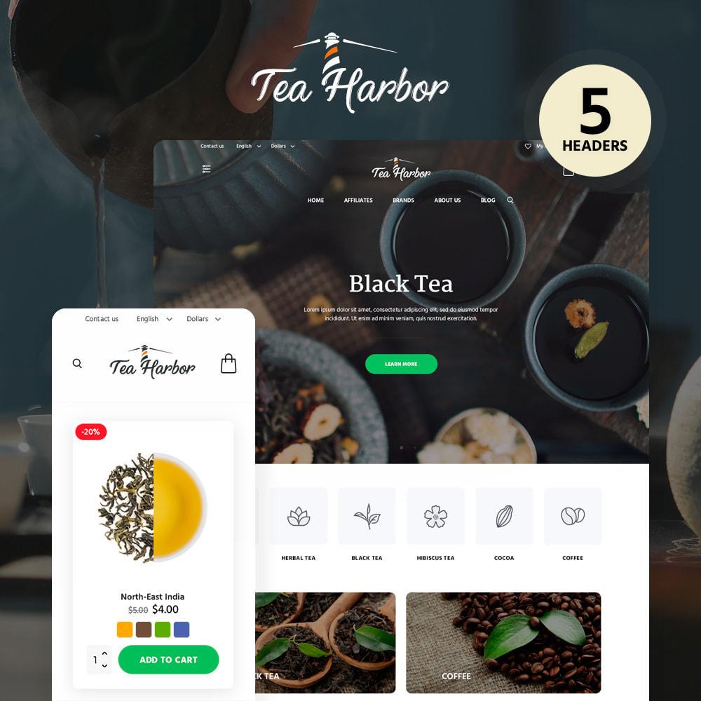 theme - Food & Restaurant - Тea Harbor - 1