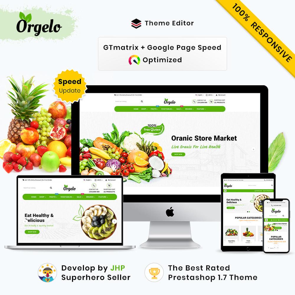theme - Cibo & Ristorazione - Organic Mega Fresh–Grocery Super Store - 1