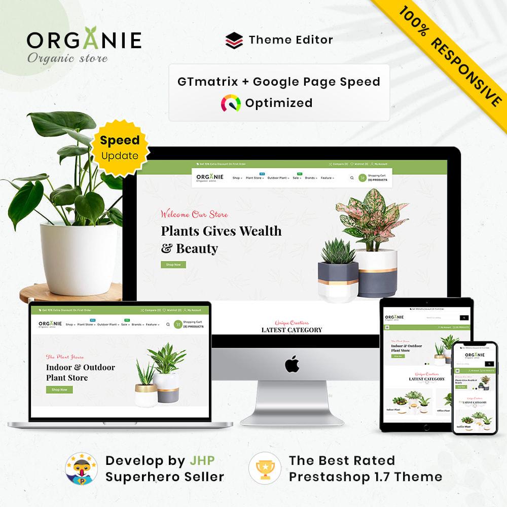theme - Casa & Giardino - Organe Organic–Plant and Craft–Tools Store - 1