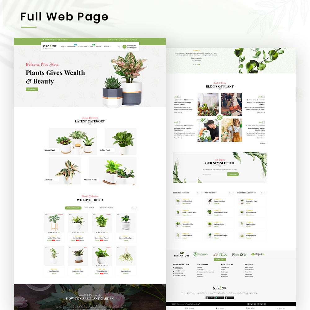 theme - Casa & Giardino - Organe Organic–Plant and Craft–Tools Store - 2