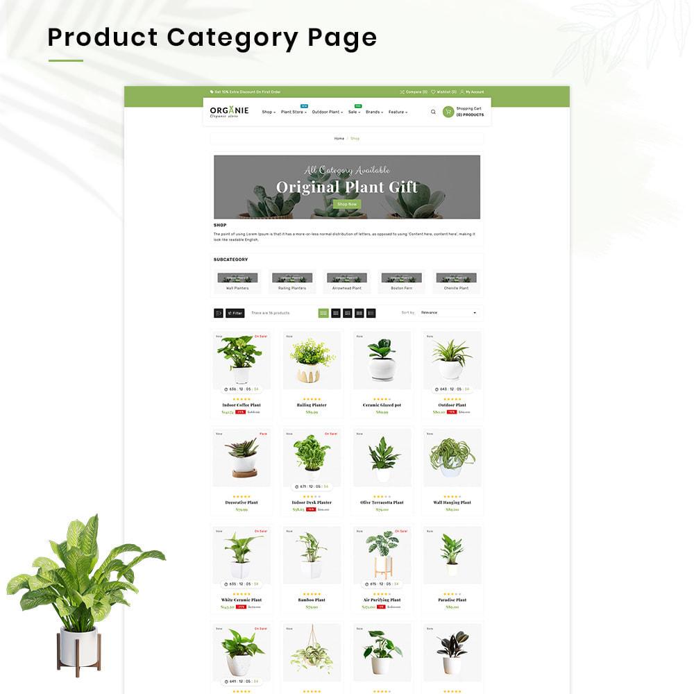 theme - Casa & Giardino - Organe Organic–Plant and Craft–Tools Store - 3
