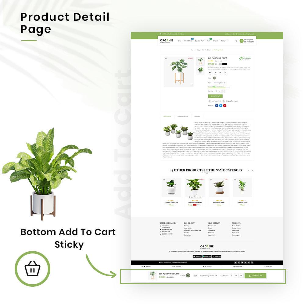 theme - Casa & Giardino - Organe Organic–Plant and Craft–Tools Store - 4