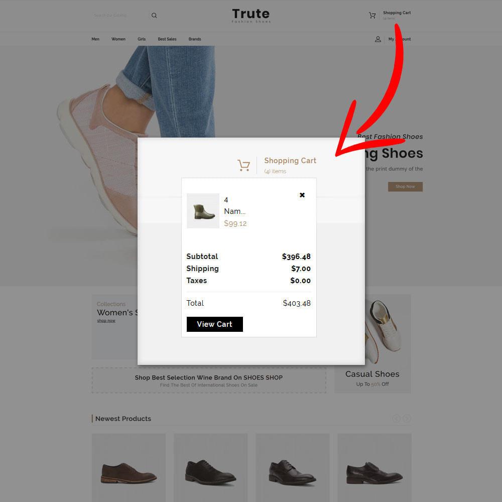 theme - Fashion & Shoes - Trute - Shoes Store - 5