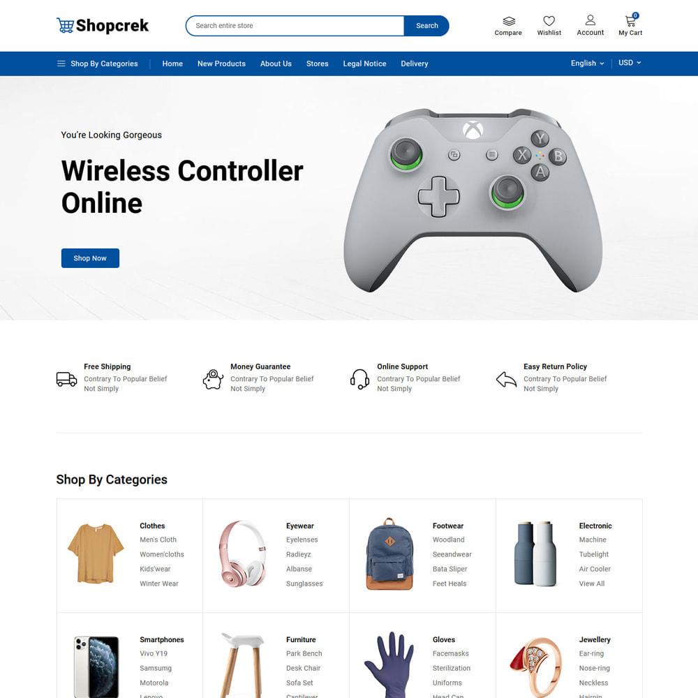 theme - Electronics & Computers - Shopcrek Mega Store - 3