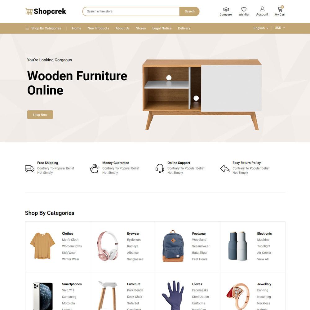 theme - Electronics & Computers - Shopcrek Mega Store - 4