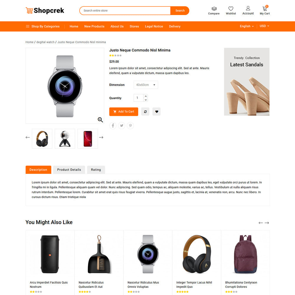 theme - Electronics & Computers - Shopcrek Mega Store - 5