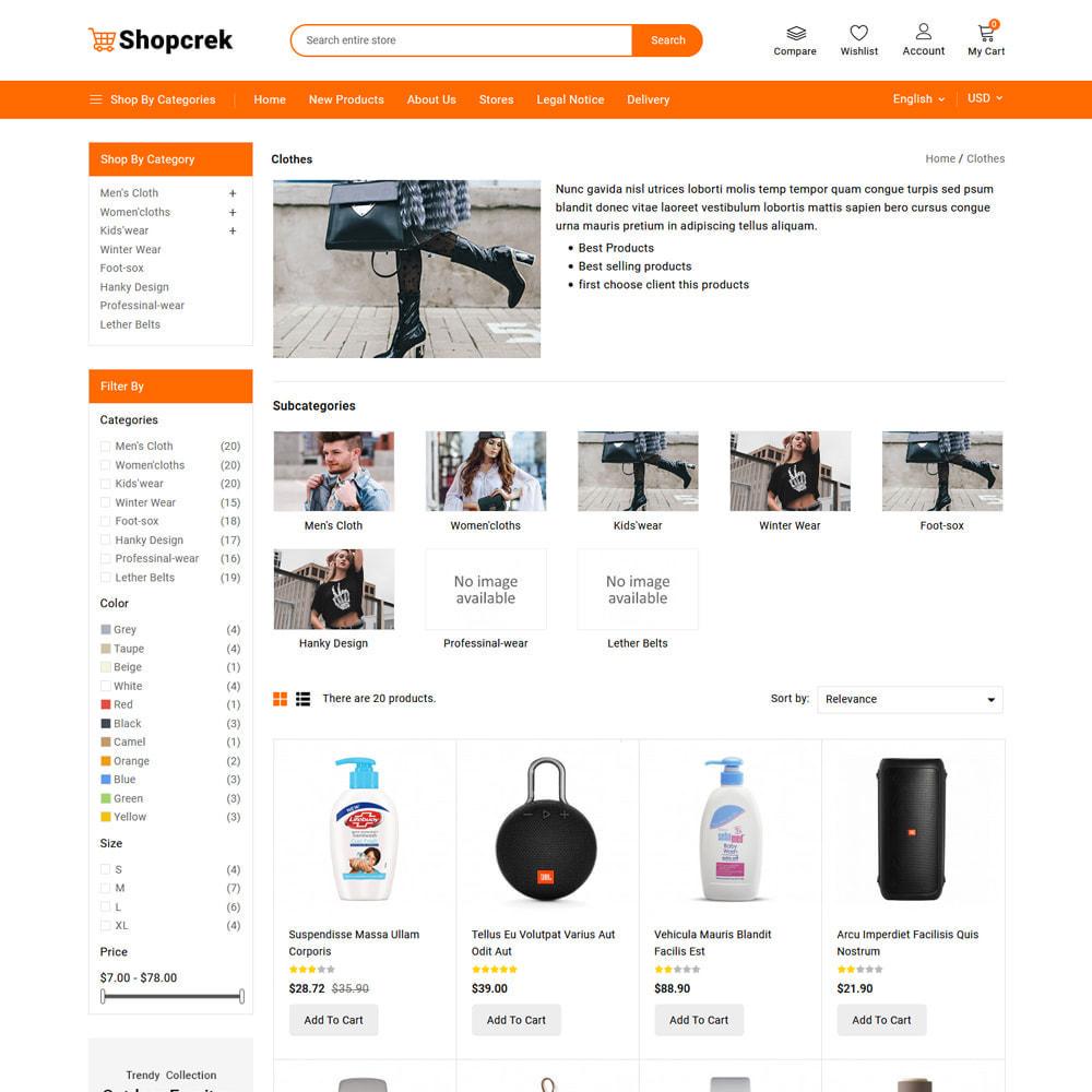 theme - Electronics & Computers - Shopcrek Mega Store - 6