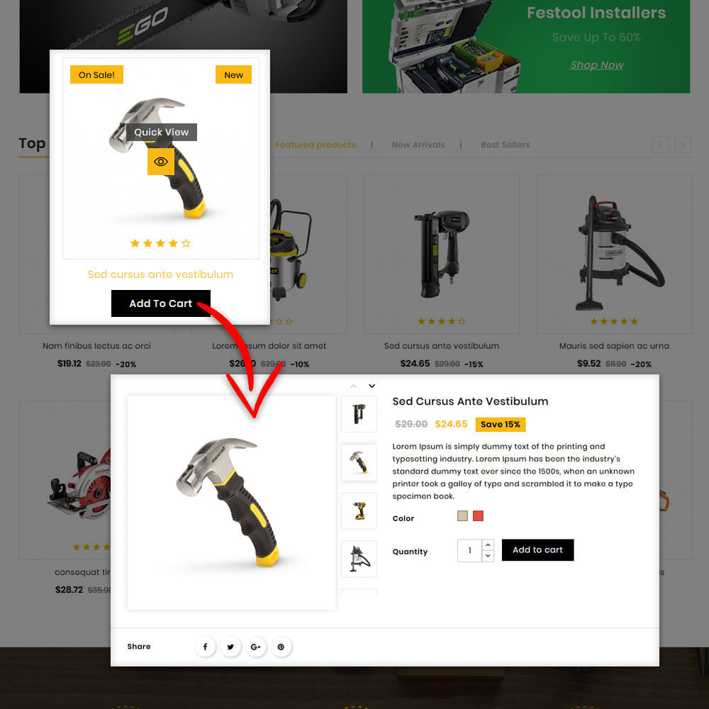 theme - Home & Garden - Buil - Tool Store - 8