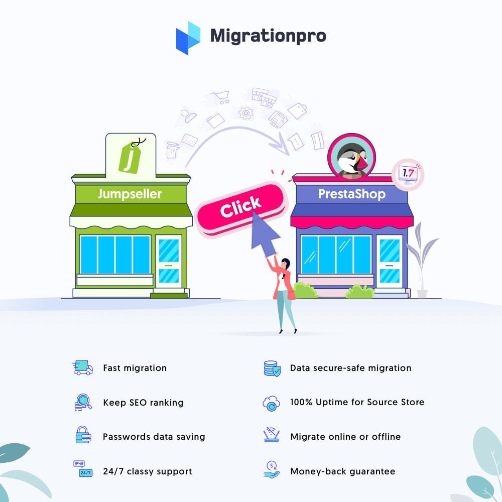 module - Data migration & Backup - MigrationPro: Jumpseller to PrestaShop Migration Tool - 1