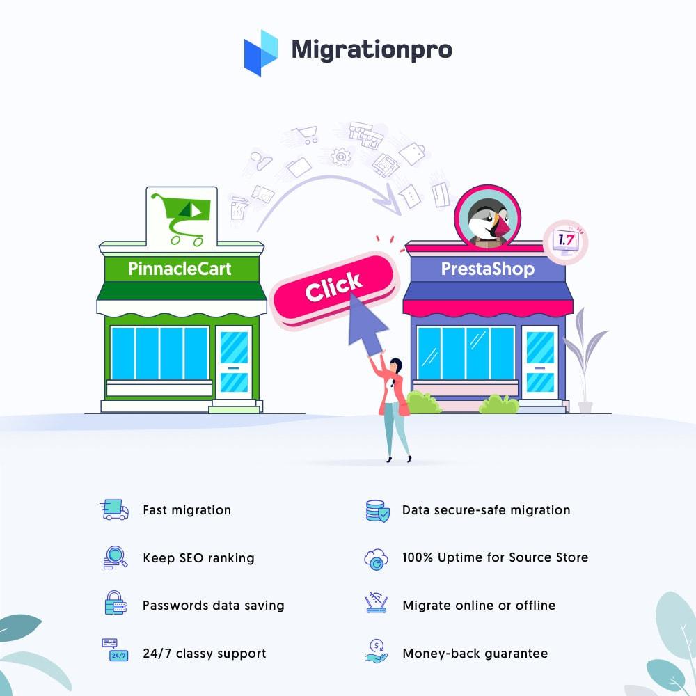 module - Migratie & Backup - MigrationPro: PinnacleCart to PrestaShop Migration tool - 1