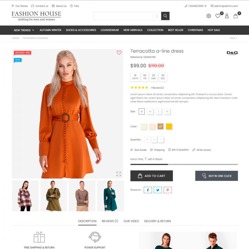 theme - Mode & Chaussures - Fashion House - Clothes & Shoes, Jewelry & Watch, Bags - 6