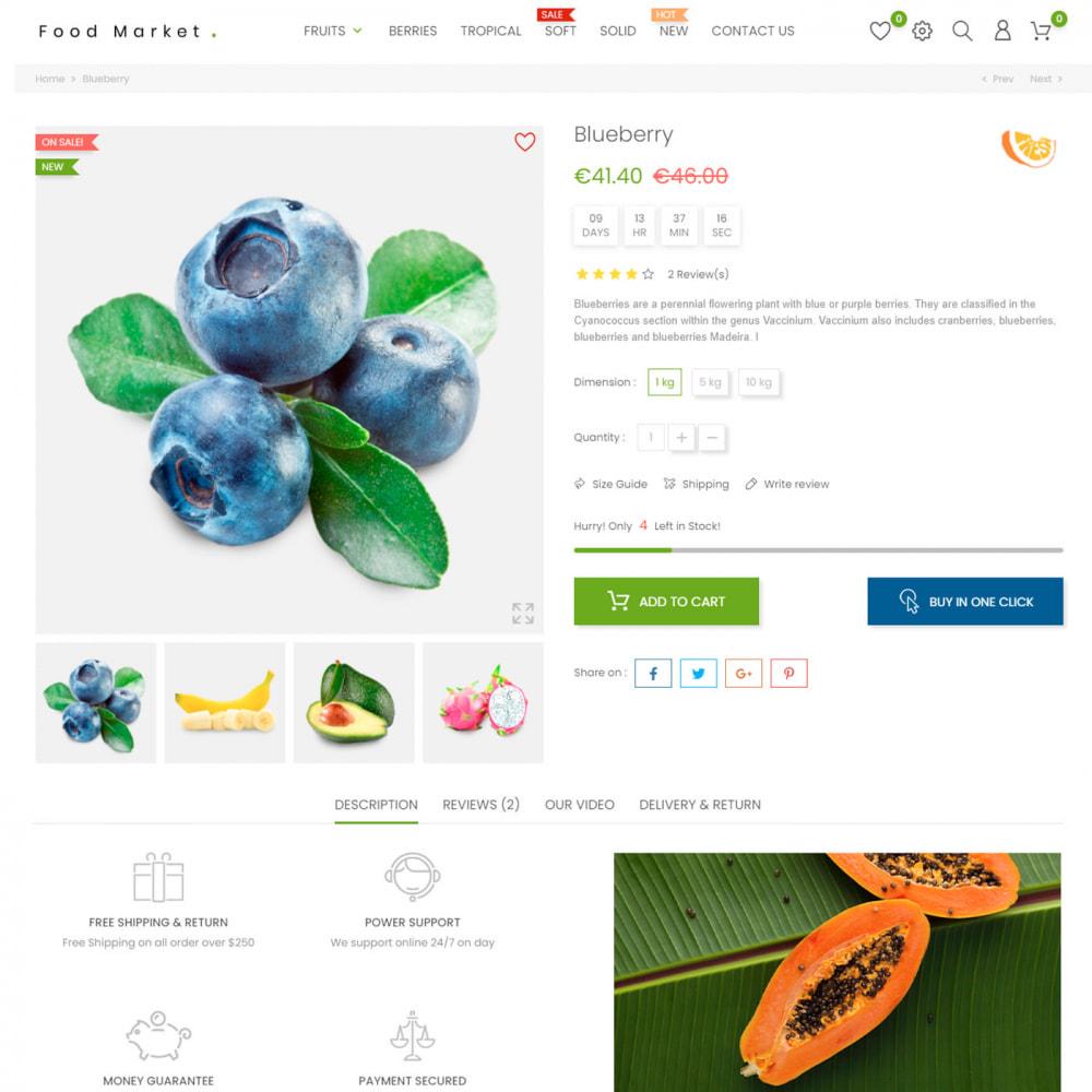 theme - Food & Restaurant - Food & Restaurant - Supermarket Organic, Wine, Coffe - 6