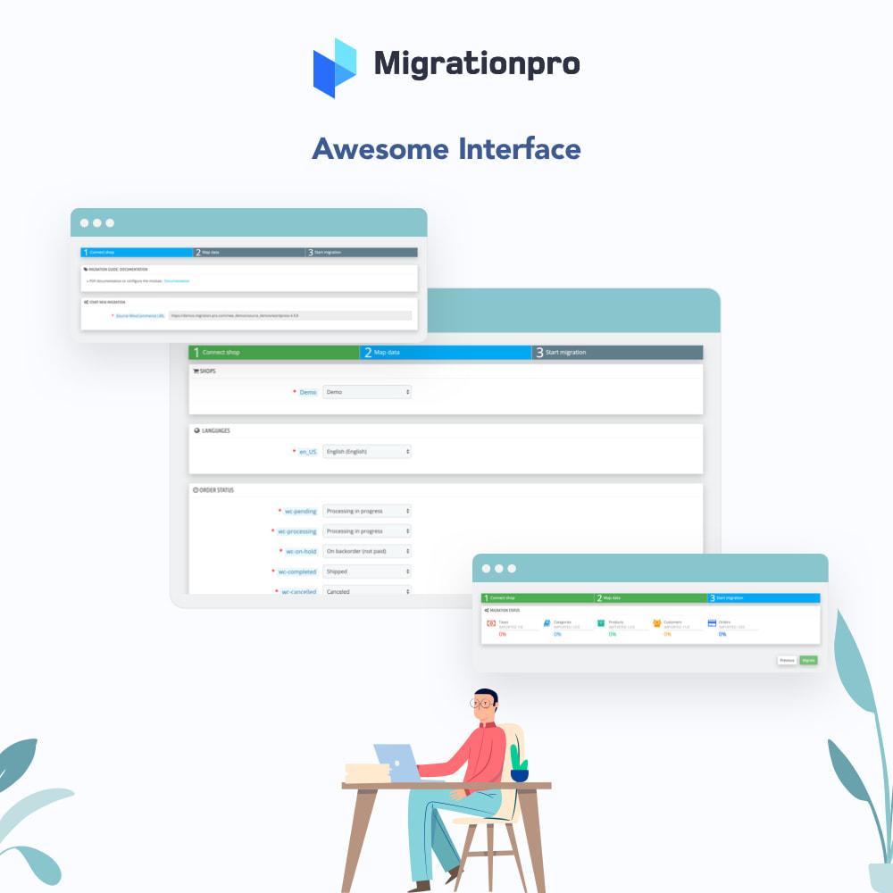 module - Data migration & Backup - MigrationPro: MijoShop to PrestaShop Migration Tool - 6