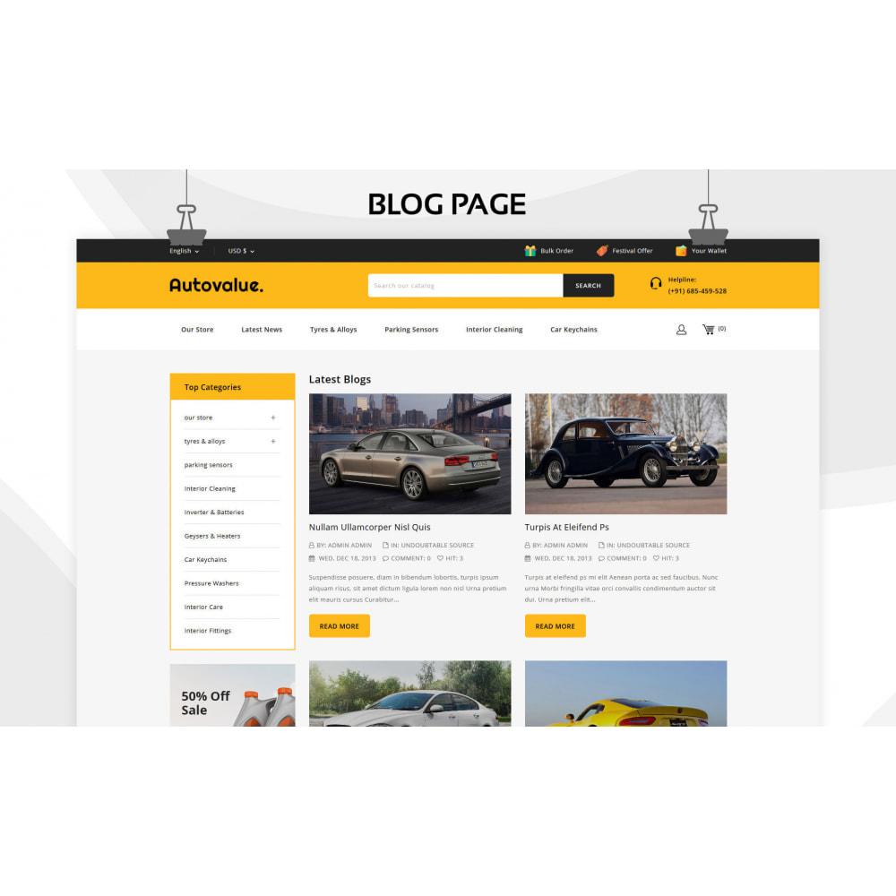 theme - Automotive & Cars - Autovalue - The Autoparts Store - 7