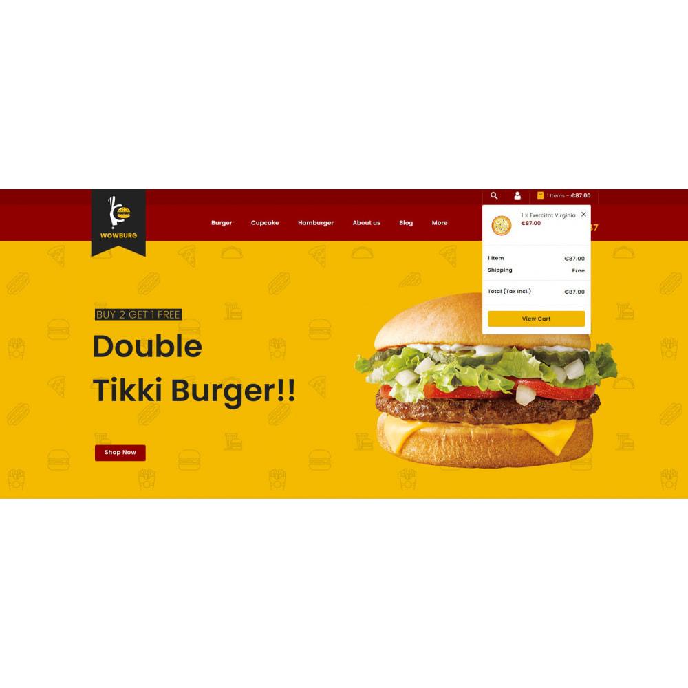 theme - Food & Restaurant - Wowburg - Burger Store - 7