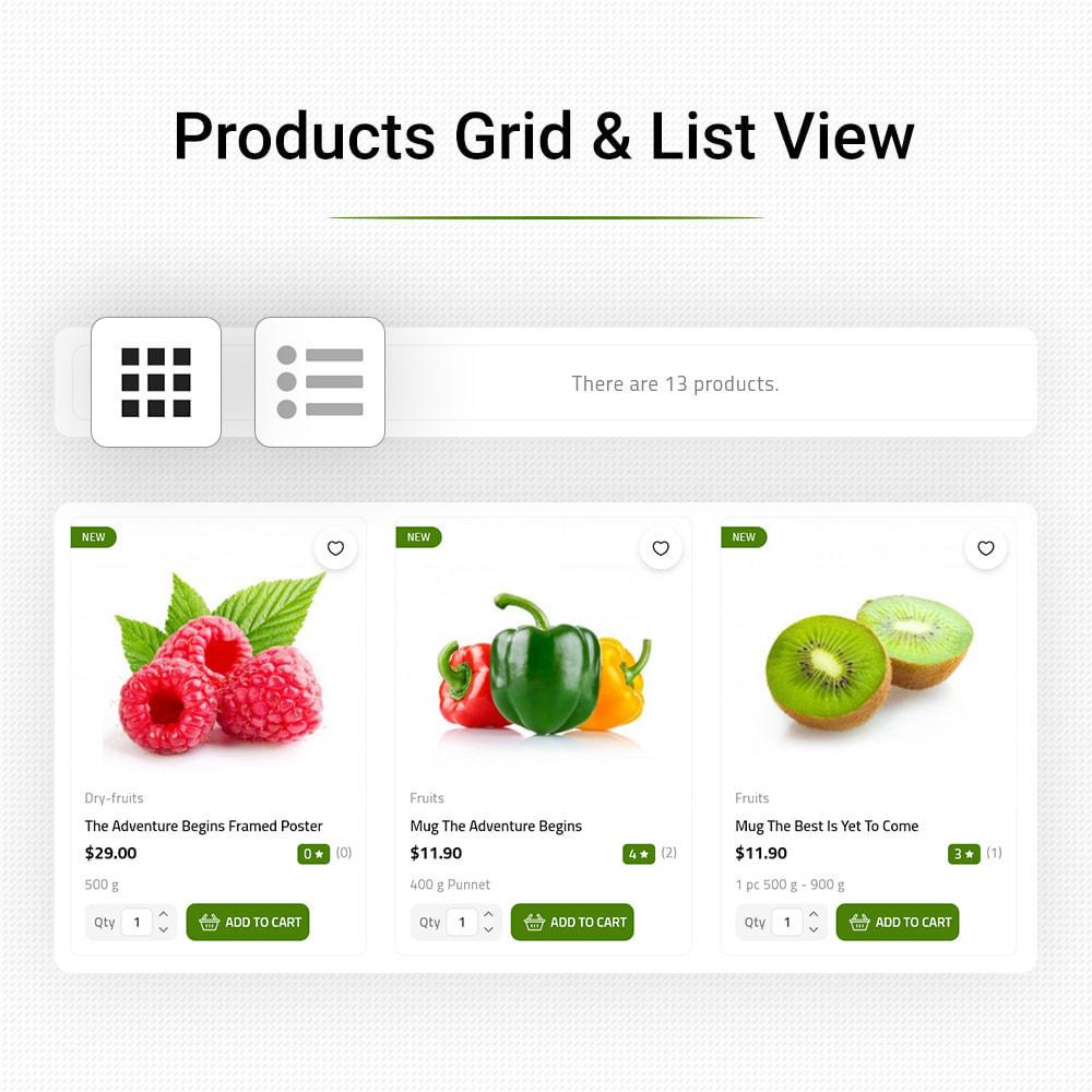 theme - Food & Restaurant - FreshGo - Fresh Vegetables & Supermarket Food Store - 9