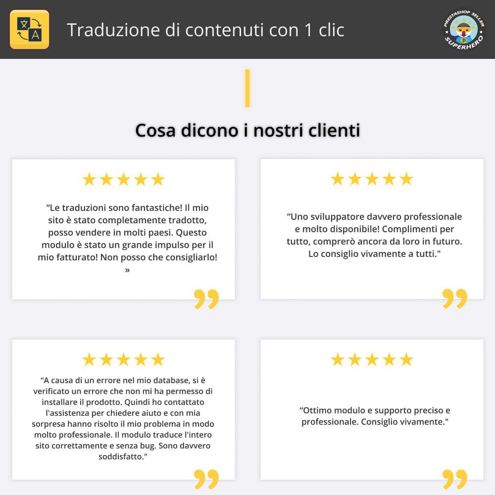 module - Lingue & Traduzioni - Traduzione di contenuti con 1 clic - 2