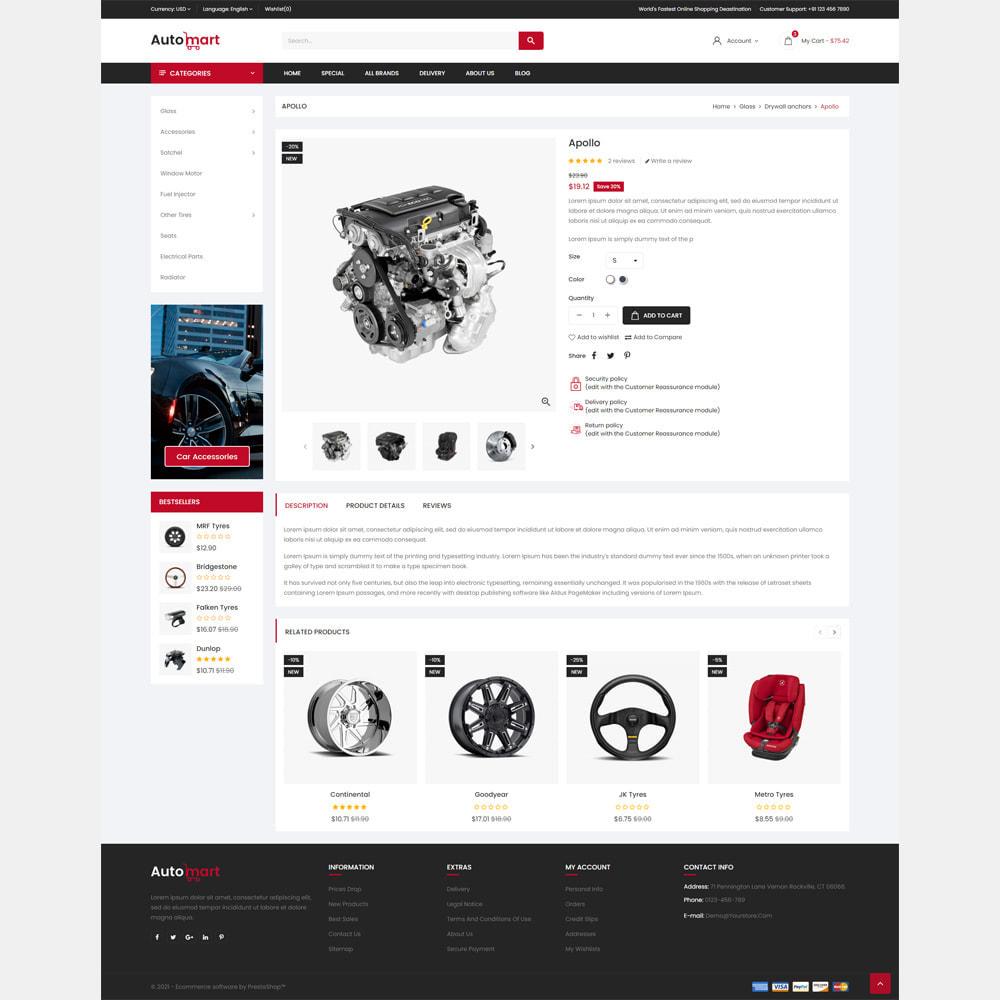 theme - Automotive & Cars - Automart Store - 4