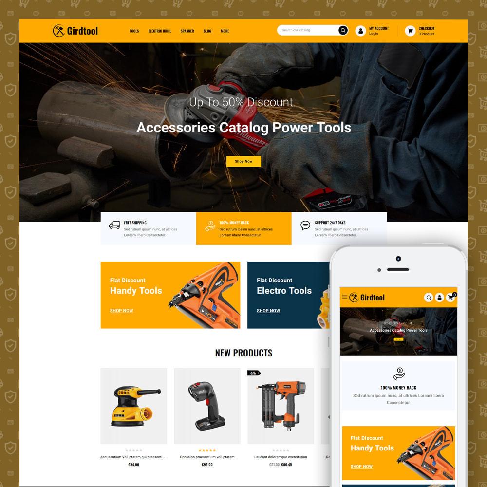 theme - Auto's & Motoren - Gridtool - Hand Tool Store - 1