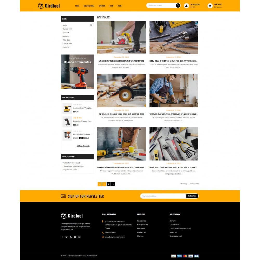 theme - Auto's & Motoren - Gridtool - Hand Tool Store - 9