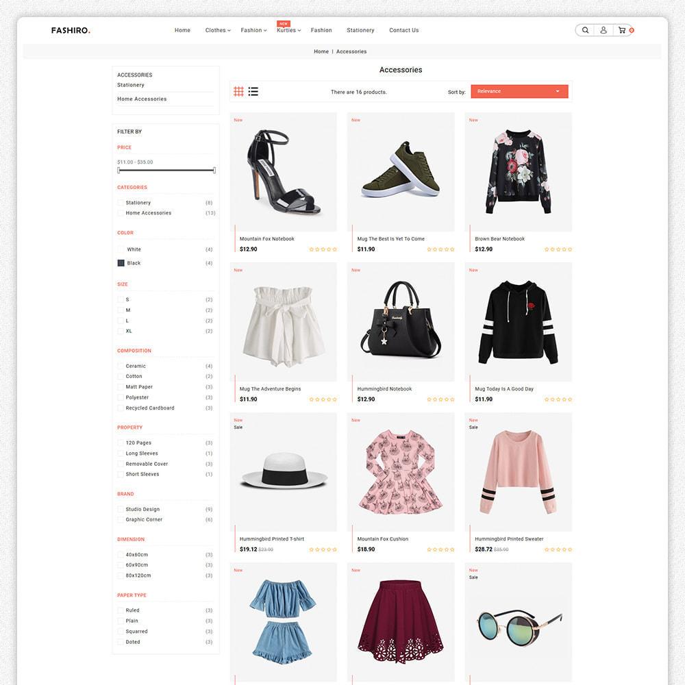 theme - Fashion & Shoes - Fashiro - Mega Fashion Trend Store - 2