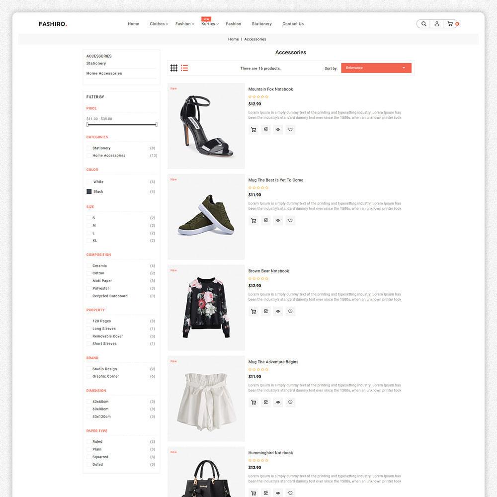 theme - Fashion & Shoes - Fashiro - Mega Fashion Trend Store - 5