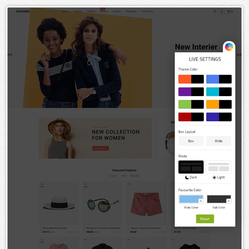 theme - Fashion & Shoes - Fashiro - Mega Fashion Trend Store - 8