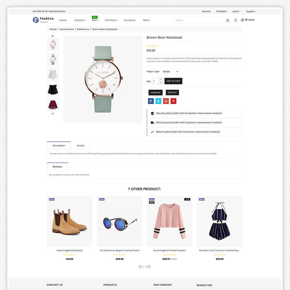 theme - Fashion & Shoes - Fashiva - Modern Fashion Store - 4