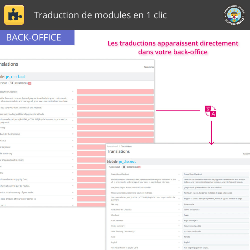 module - International & Localisation - Traduction de modules en 1 clic - 4