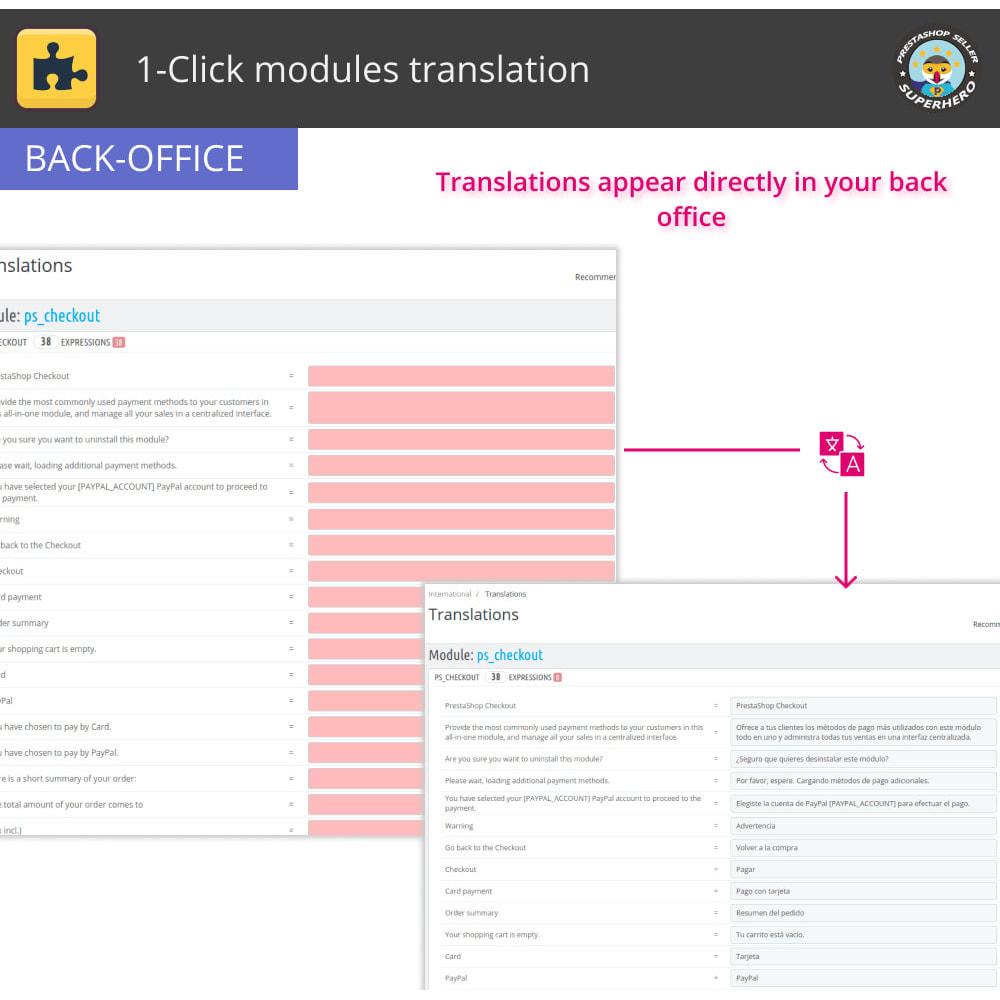 module - International & Localization - 1-Click modules translation - 4