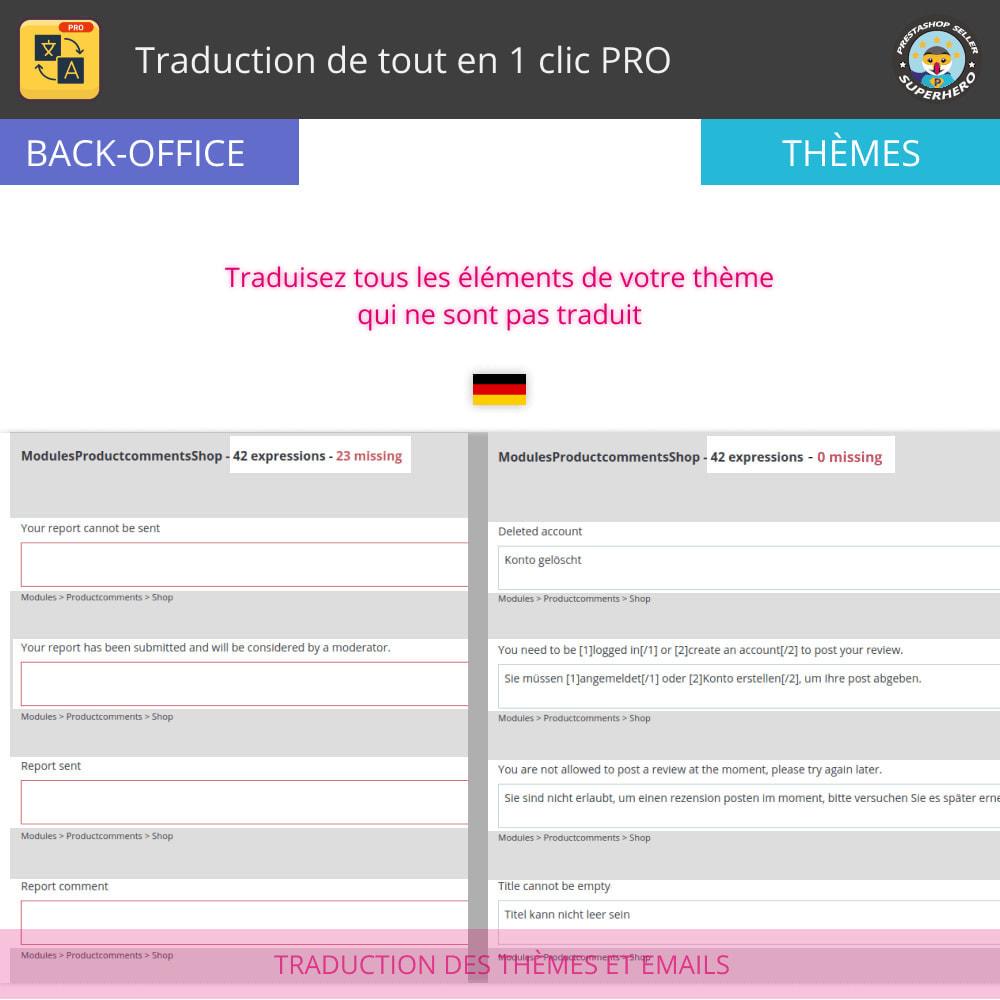module - International & Localisation - Traduction de tout en 1 clic PRO - 6