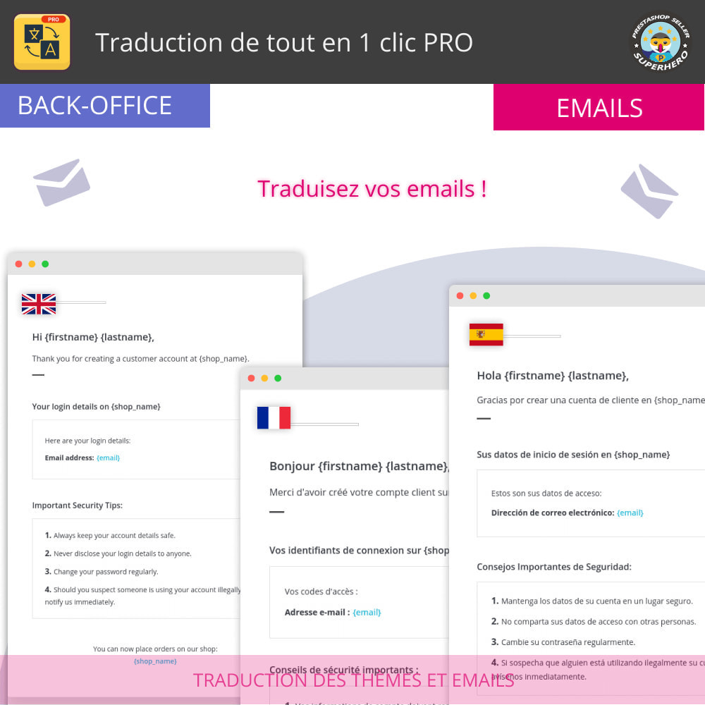 module - International & Localisation - Traduction de tout en 1 clic PRO - 8