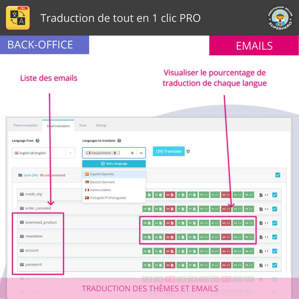 module - International & Localisation - Traduction de tout en 1 clic PRO - 9