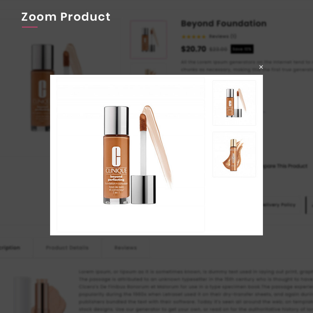 theme - Gesundheit & Schönheit - Costery Mega Cosmetics–Perfume Health–Beauty SuperStore - 8
