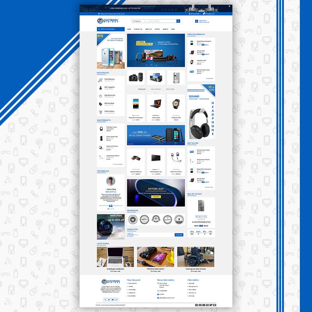 theme - Eletrônicos & High Tech - Metro Mega Electronics Multi Store - 3