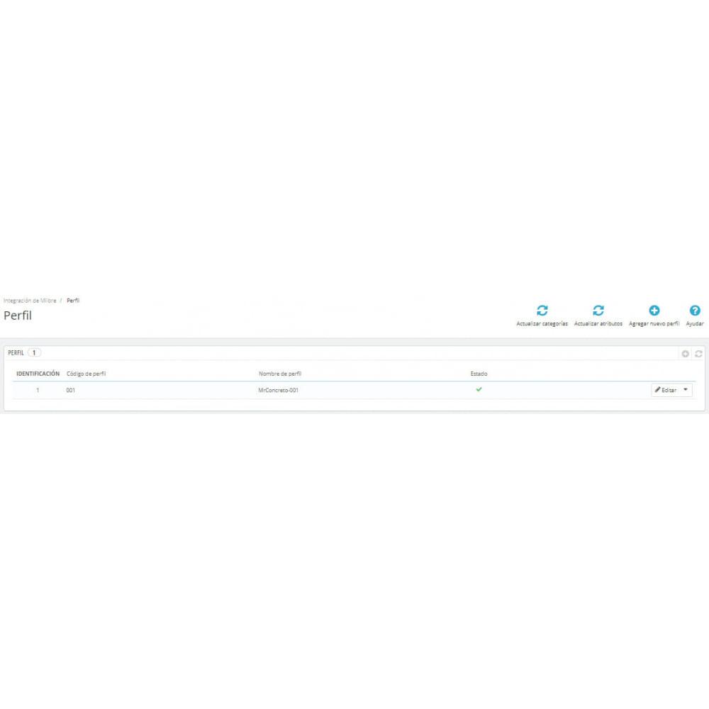 module - Integración con CRM, ERP... - CedCommerce MercadoLibre Integration - 5