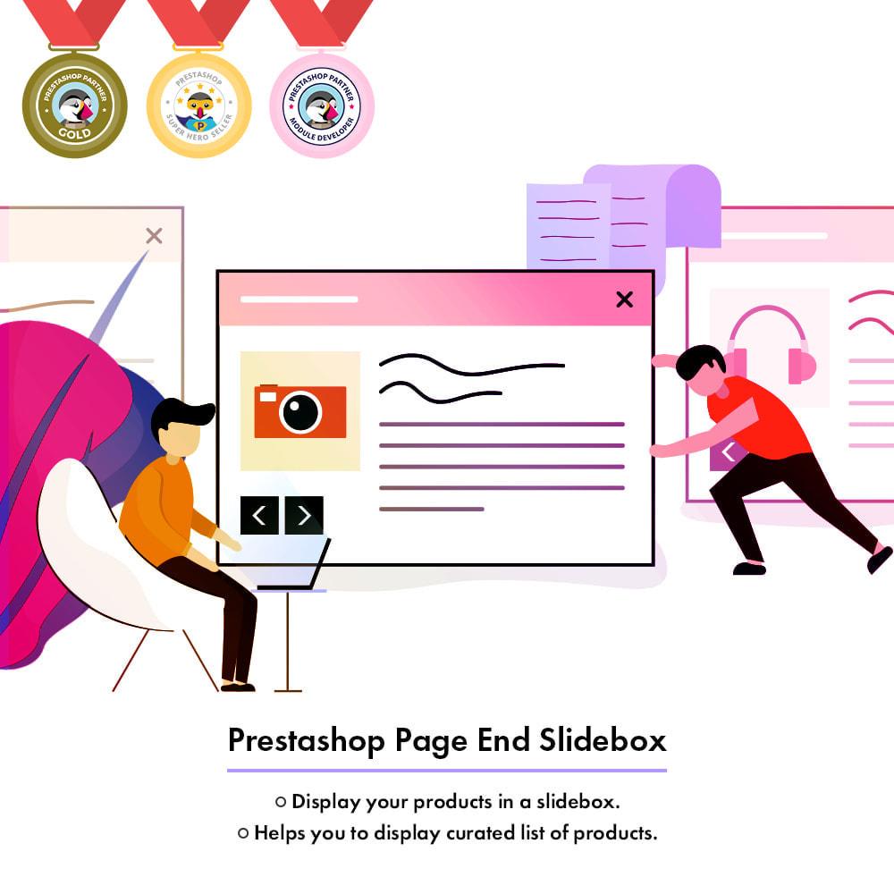 module - Zarządzanie produktami na stronie głównej - Page End Slidebox - 1