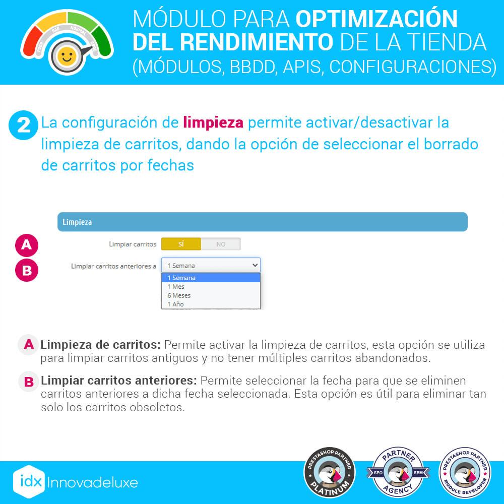 module - Rendimiento del sitio web - Performance - Optimización del rendimiento de la tienda - 4