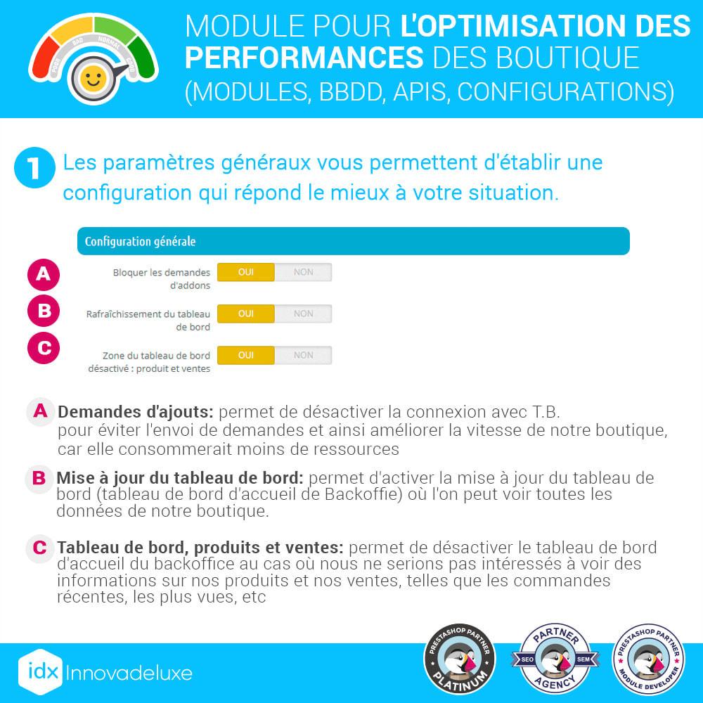module - Performance du Site - Performance - Optimisation de la boutique - 2