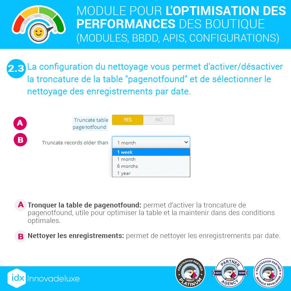 module - Performance du Site - Performance - Optimisation de la boutique - 7