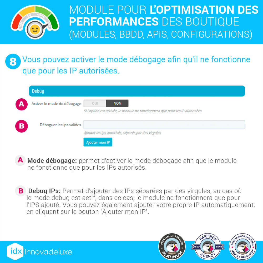module - Performance du Site - Performance - Optimisation de la boutique - 11