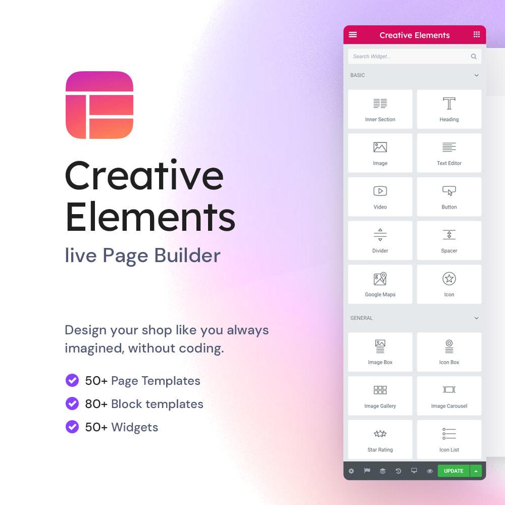 module - Amministrazione - Creative Elements - live PageBuilder - 1