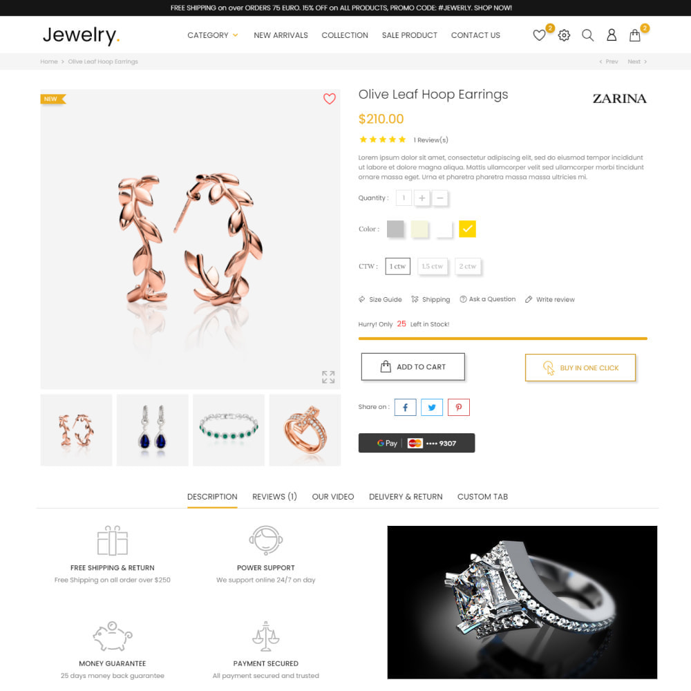 theme - Jewelry & Accessories - Jewelry & Accessories - Fashion, Watches, Design - 6