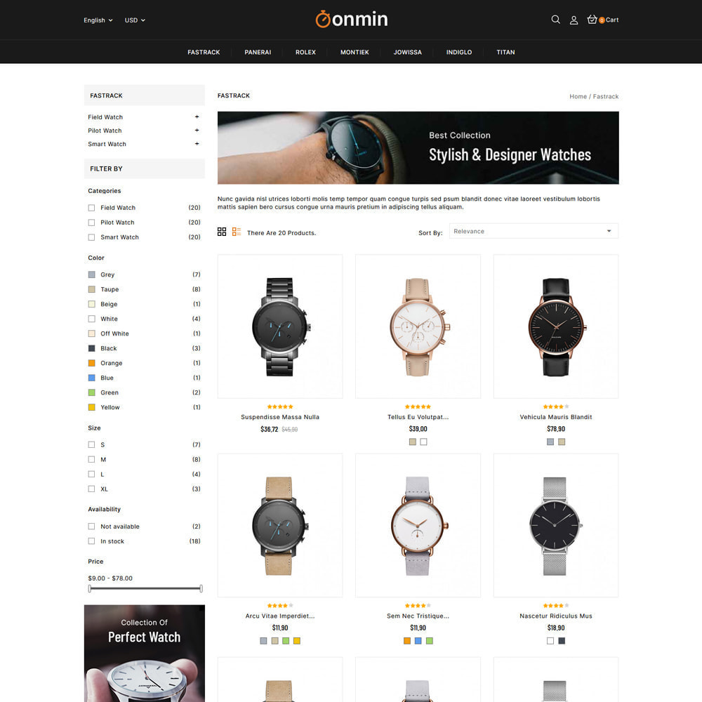 theme - Jewelry & Accessories - Onmin - Watch and Fashion Store - 3