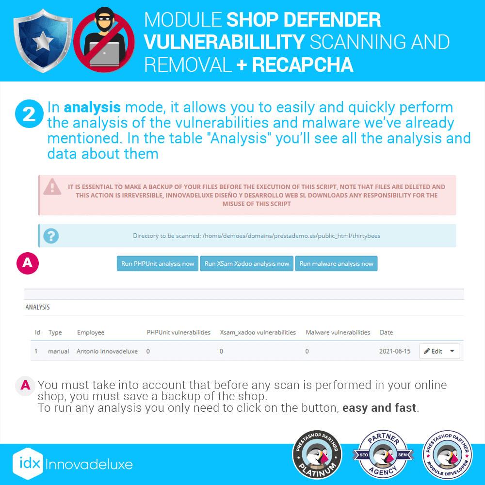 module - Инструменты администрирования - Shop Defender (Malware Removal + Firewall) - 5